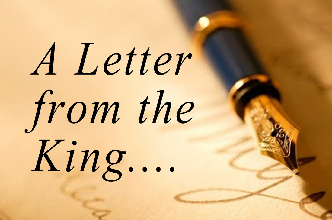 A Letter from the King, a message from Word of Light Community Church