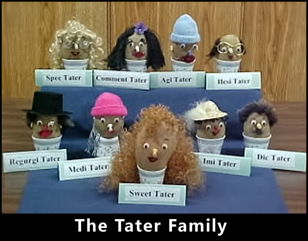 The Tater Family, a sermon from Word of Light Community Church