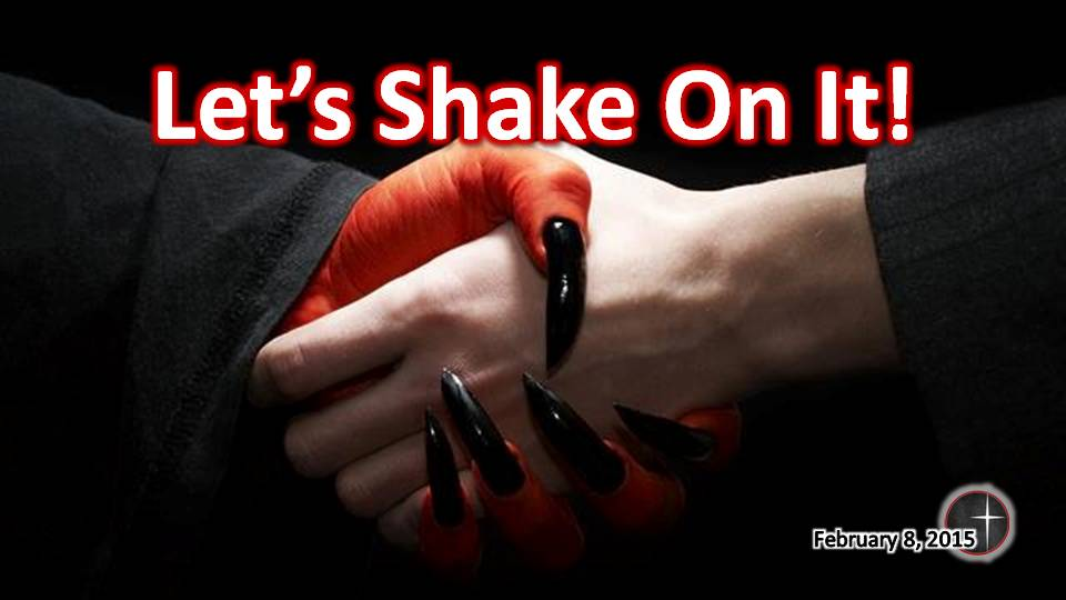 Let's Shake on it!  a sermon from Word of LIght Community Church